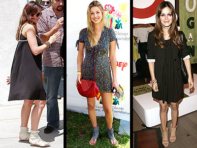 SANDAL BOOTIES photo | Rachel Bilson