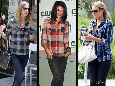 PLAID SHIRTS photo | Jessica Szohr, Lauren Conrad, Nicky Hilton