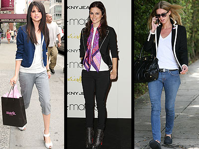 PIPED BLAZERS