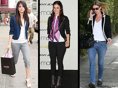 PIPED BLAZERSphoto | Nicky Hilton, Rachel Bilson, Selena Gomez