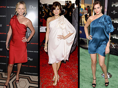 BOW-TOPPED DRESSES photo | Charlize Theron, Eva Mendes, Liv Tyler