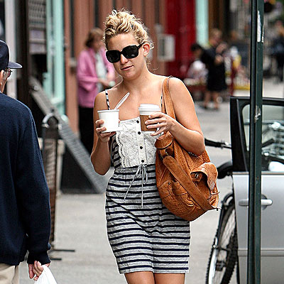 KATE HUDSON'S STRIPED DRESS photo | Kate Hudson