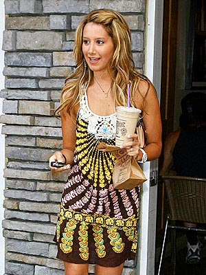 ASHLEY TISDALE'S TUNIC photo | Ashley Tisdale