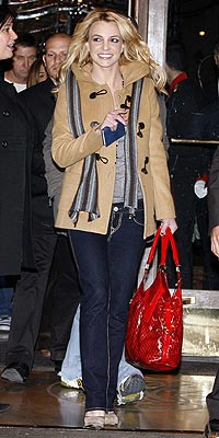 BRITNEY SPEARS'S TOGGLE COAT  photo | Britney Spears