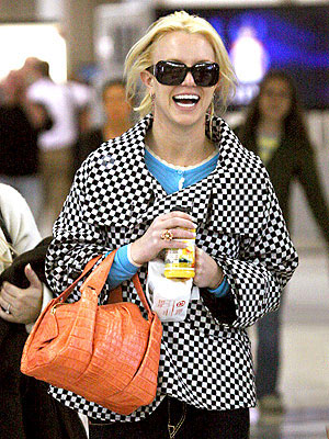 BRITNEY SPEARS&#39;S CHECKERED COAT photo | Britney Spears