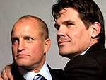 PEOPLE&#39;s SAG Awards Photo Booth | Josh Brolin, Woody Harrelson