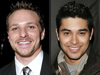 Wilmer Valderrama & Drew Lachey Sign For Big Race