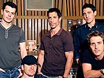 EXCLUSIVE: Behind the Scenes with New Kids | Danny Wood, Donnie Wahlberg, Joey McIntyre, Jonathan Knight, Jordan Knight