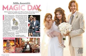 Milla Jovovich's Magic Day