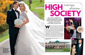 High Society: Ivanka Trump & Jared Kushner Wed