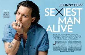 Johnny Depp Sexiest Man Alive