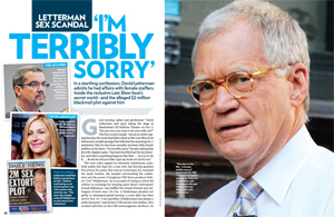Letterman Sex Scandal 'I'm Terribly Sorry'