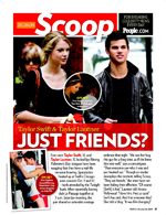Taylor Swift & Taylor Lautner: Just Friends?