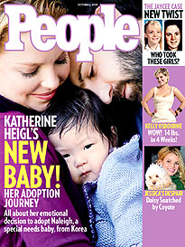 Katherine Heigl's Baby Joy