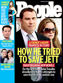 Travolta Tragedy a Father's Anguish