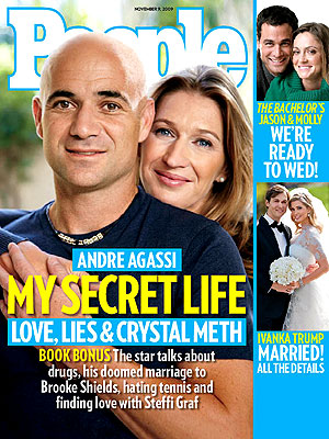 photo | Substance Abuse, Andre Agassi Cover, Tennis, Andre Agassi, Ivanka Trump