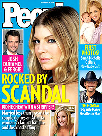 Josh & Fergie Rocked by Scandal