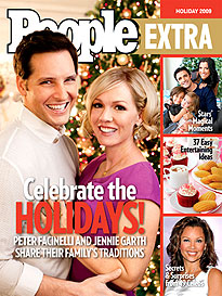 Peter Facinelli and Jennie Garth's Merry Morning