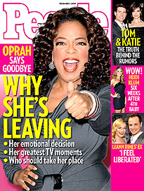 "Oprah Winfrey ""It's Time to Say Goodbye"""