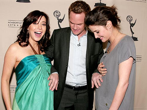 neil patrick harris500 Cobie Smulders announced she is expecting her first child, with boyfriend ...