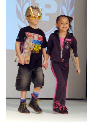 Rock Style Fall Looks At Vogue Bambini Fashion Show