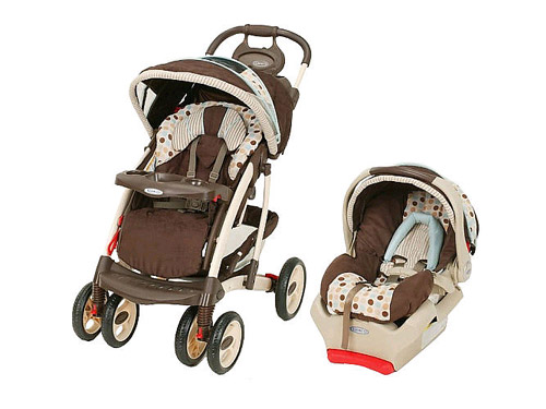 Quattro Tour Deluxe Travel System in Deco