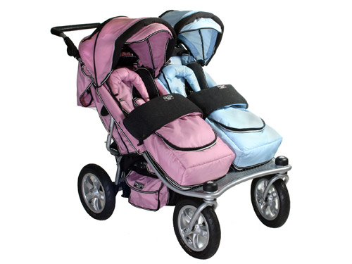 Valco Baby Runabout Tri Mode Twin Stroller: It Can Handle It All ...
