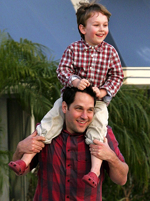 paul rudd julie yaeger. Paul and Jack Rudd Monkey
