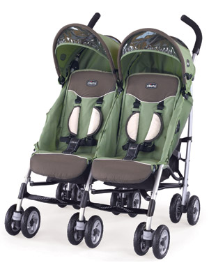 Chicco Trevi Twin Stroller: A Double Suitable for Newborns, Older ...