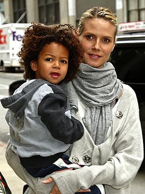 heidi klum seal children. Heidi Klum and Kids Do Lunch
