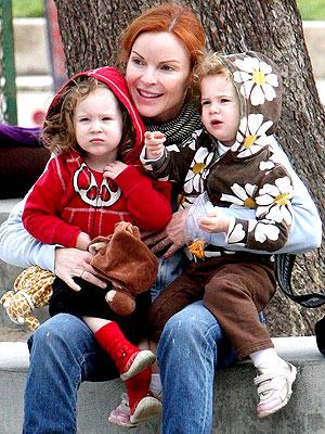 Marcia Cross babies