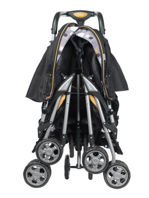 Combi Twin Sport Stroller: Two Can Ride For The Weight Of One ...