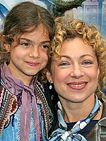 Alex Kingston child