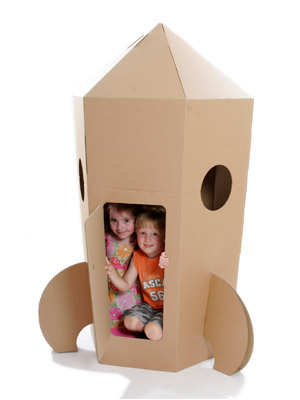 Cardboardesigns Rocket And Airplane Toys Moms Amp Babies