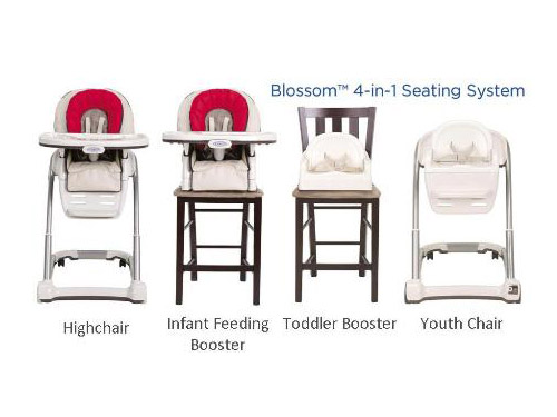 graco blossom 4 in 1 high chair antiquity chairs model