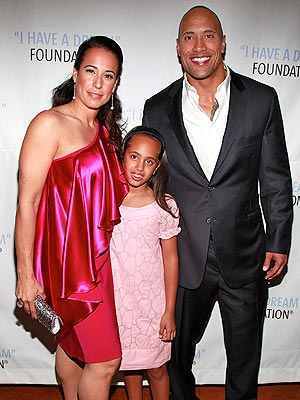 Dwayne Johnson and Family Strike a Pose – Moms & Babies – Moms
