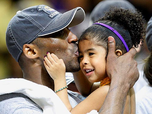 Kobe Bryant and Gianna: Sweet Success