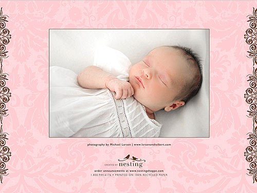 The Sutters Share Blakesleys Birth Announcements Moms Babies – Celebrity Birth Announcements