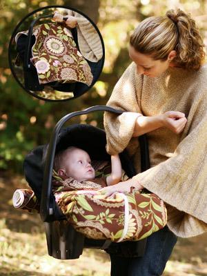 Snuggle Mez Infant Car Seat Snuggler – Moms & Babies – Celebrity