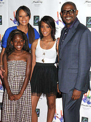 forest whitaker family