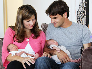 Why Roger Federer Kept His Twins News Under Wraps