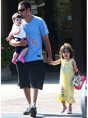 Adam Sandler's Babies Love Brownies! | PEOPLE com
