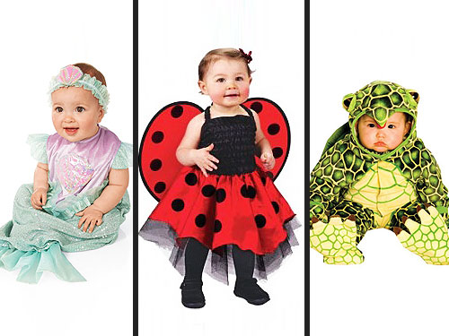 mini mermaid cute little lady bug infant costume infant and toddler plush turtle costume - Trick R Treat Halloween Costume