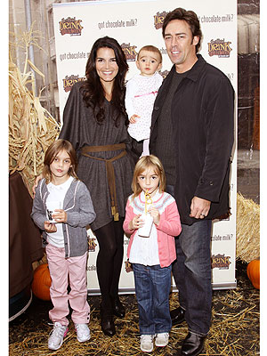 angie harmon family photos