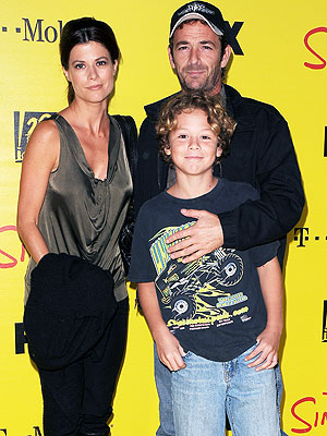 Photo of Luke Perry & his  Son  Jack Perry