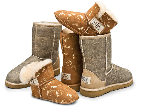 Fifty percent of the proceeds will be donated to UGG's partner charity St. Jude Children's Research Hospital