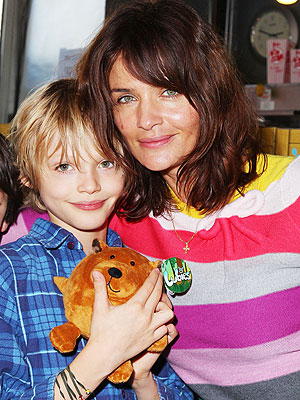 Helena Christensen and Mingus: