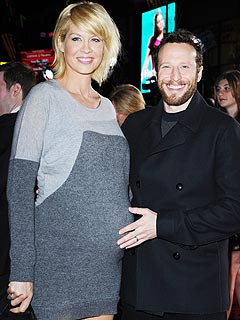 Jenna Elfman and her husband