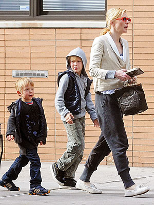 Cate Blanchett And Dashiell Hop To It Moms Amp Babies