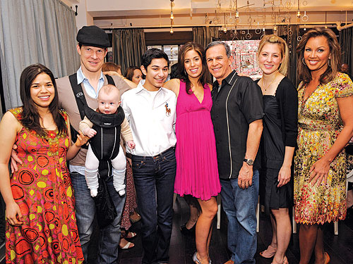Ana Ortiz Has an Ugly Betty Baby Shower!